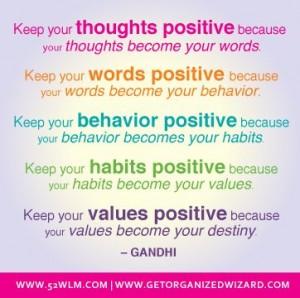 Gandhi positive