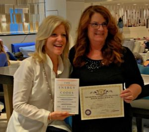 Lindsay Godfree & Dr. Sue Morter